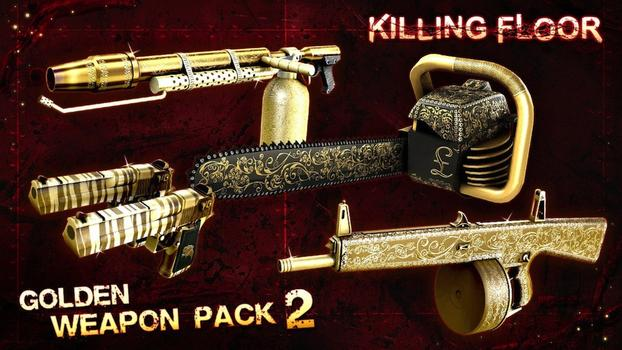 Killing Floor: Gold Weapon Pack 2 on PC screenshot #1