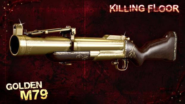 Killing Floor: Golden Weapons Pack on PC screenshot #4