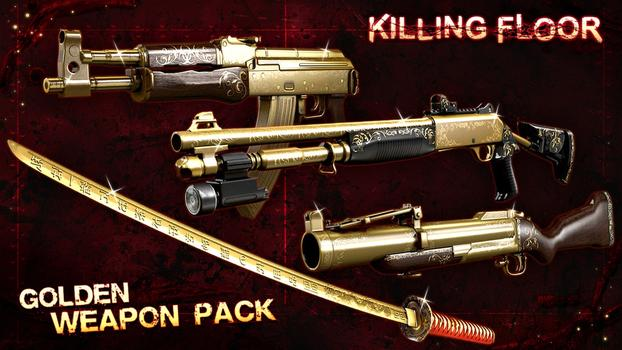 Killing Floor: Golden Weapons Pack on PC screenshot #1