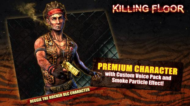 Killing Floor: Reggie the Rocker Character Pack on PC screenshot #1
