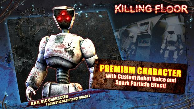 Killing Floor: Robot Premium DLC Character on PC screenshot #1
