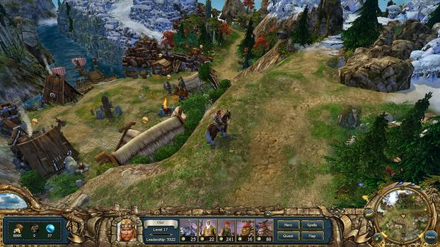 King&#39;s Bounty: Warriors of the North on PC screenshot #4