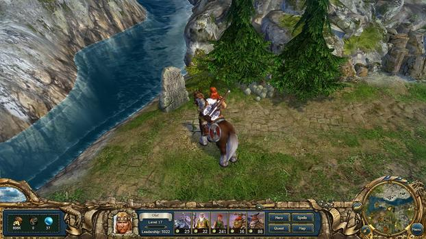 King&#39;s Bounty: Warriors of the North on PC screenshot #3