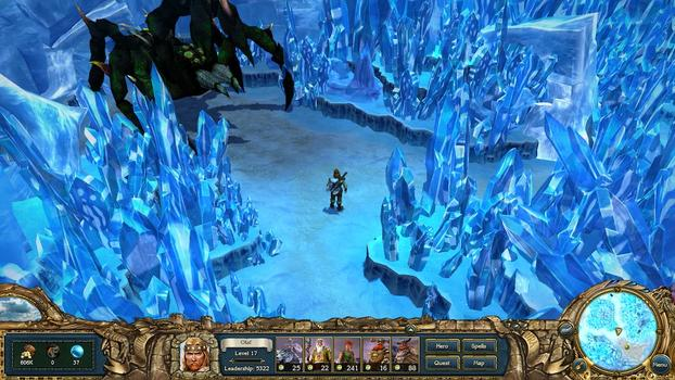 King&#39;s Bounty: Warriors of the North on PC screenshot #2
