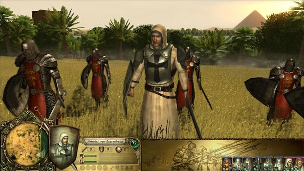 The Kings Crusade: Teutonic Knights on PC screenshot #1