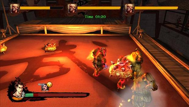 Kung Fu Strike: The Warriors Rise - Master Level on PC screenshot #1