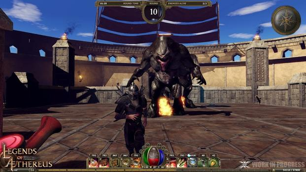 Legends of Aethereus on PC screenshot #7