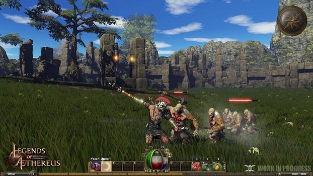 Legends of Aethereus on PC screenshot #5