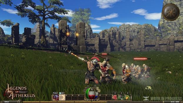 Legends of Aethereus on PC screenshot #5