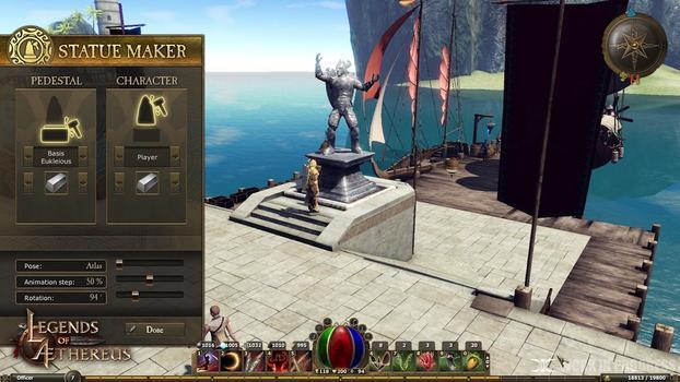 Legends of Aethereus on PC screenshot #3