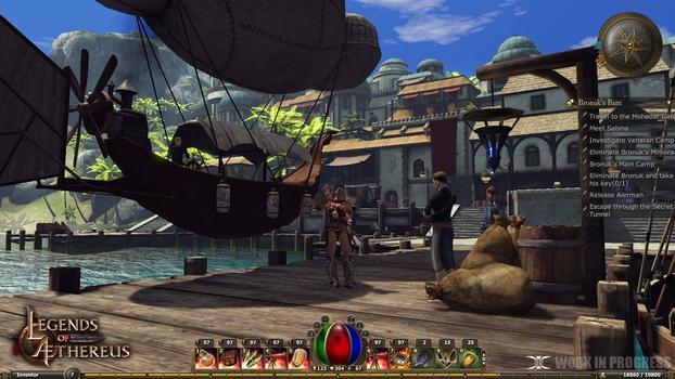 Legends of Aethereus on PC screenshot #1