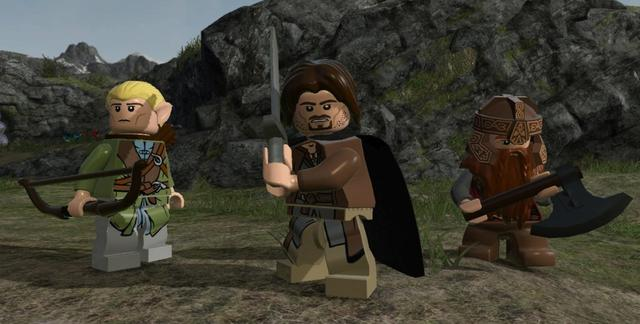 LEGO Lord of the Rings (NA) on PC screenshot #3