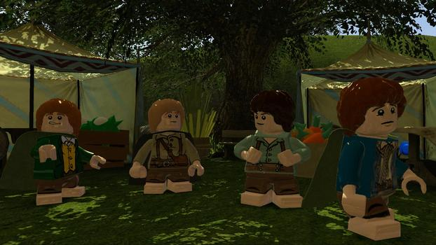 LEGO Lord of the Rings on PC screenshot #1