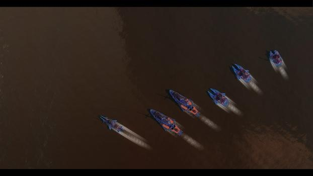 Leviathan Warships: Commonwealth Unit Pack on PC screenshot #1