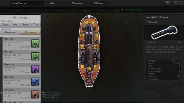 Leviathan: Warships on PC screenshot #6