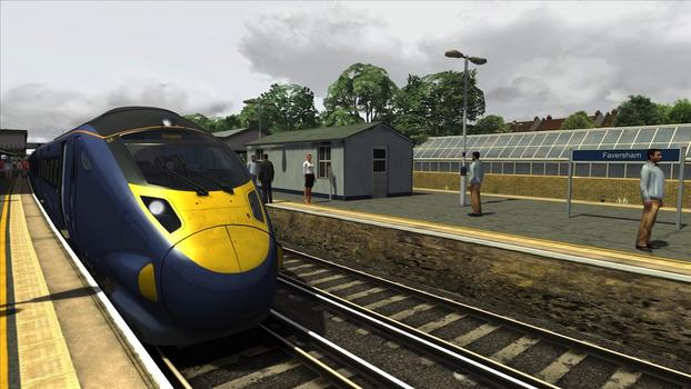 Train Simulator: London Faversham High Speed on PC screenshot #1