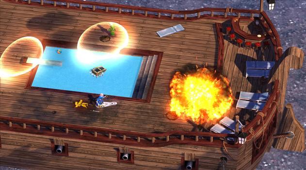 Magicka: Lonely Island Cruise DLC on PC screenshot #2