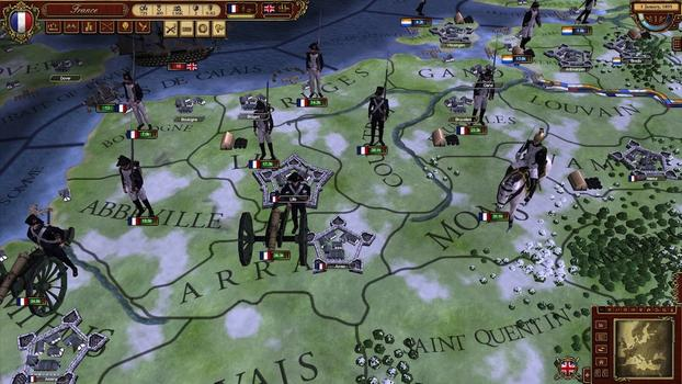 March of the Eagles: French Unit Pack on PC screenshot #1