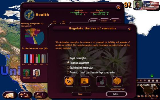 Masters of the World - Geopolitical Simulator 3 on PC screenshot #5