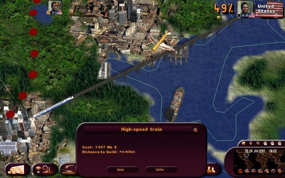 Masters of the World - Geopolitical Simulator 3 on PC screenshot #1