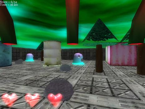 Maze Man Mania 3D on PC screenshot #1