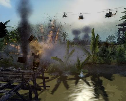 Men of War: Vietnam Special Edition on PC screenshot #1