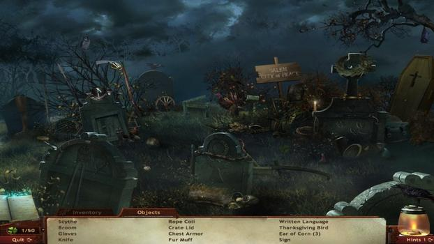 Midnight Mysteries 2: Salem Witch Trials on PC screenshot #1