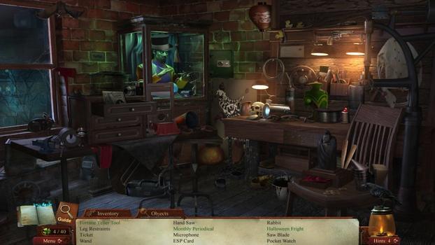 Midnight Mysteries 4: Haunted Houdini on PC screenshot #2
