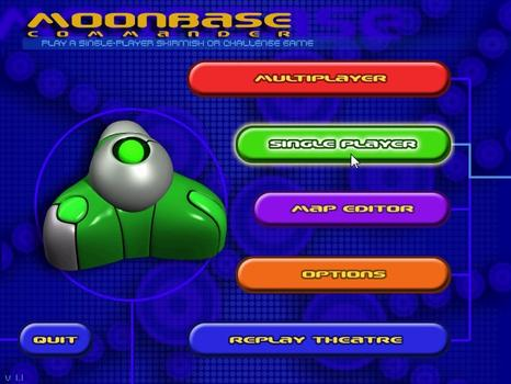 MoonBase Commander on PC screenshot #1