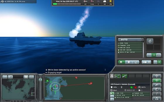 Naval War Arctic Circle: Operation Tarnhelm on PC screenshot #2