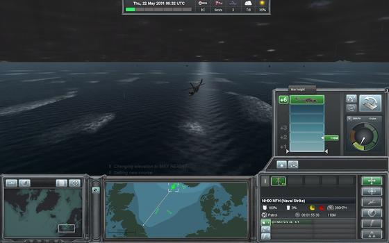 Naval War Arctic Circle: Operation Tarnhelm on PC screenshot #1
