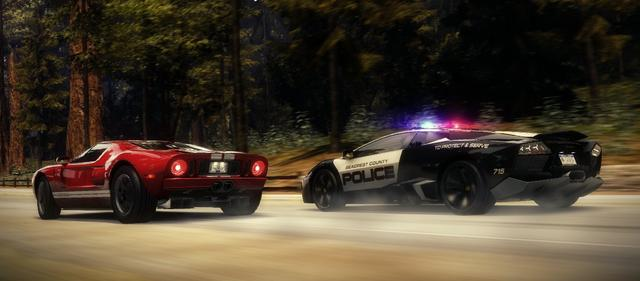 Need for Speed Hot Pursuit (NA) on PC screenshot #4