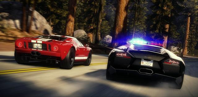 Need for Speed Hot Pursuit (NA) on PC screenshot #2