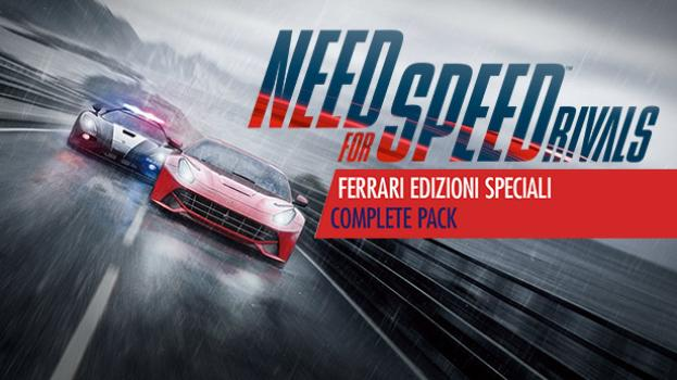 Need for Speed Rivals Ferrari Edizioni Speciali Complete Pack DLC (NA) on PC screenshot #1