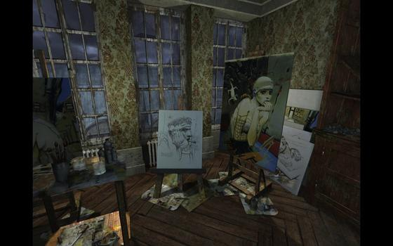 Nikopol : Secrets of the Immortals on PC screenshot #5