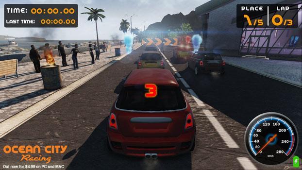 Ocean City Racing on PC screenshot #10