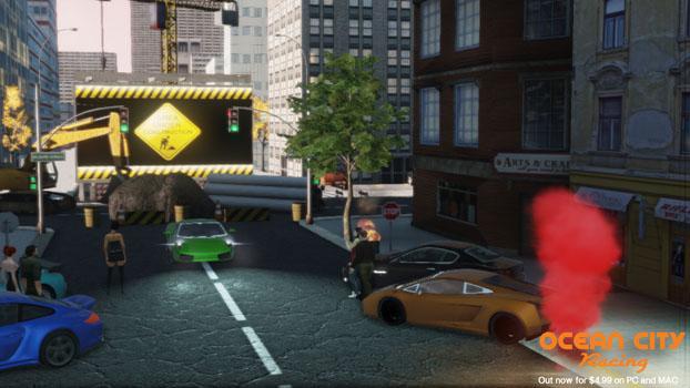 Ocean City Racing on PC screenshot #8