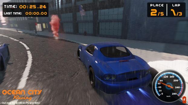 Ocean City Racing on PC screenshot #7