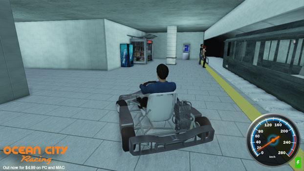 Ocean City Racing on PC screenshot #5