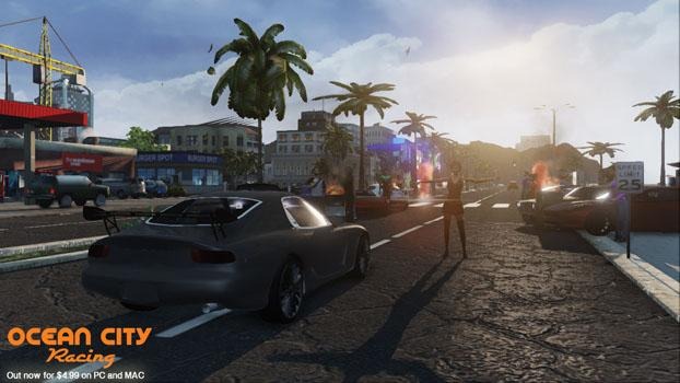 Ocean City Racing on PC screenshot #4