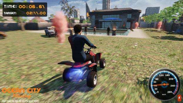 Ocean City Racing on PC screenshot #3