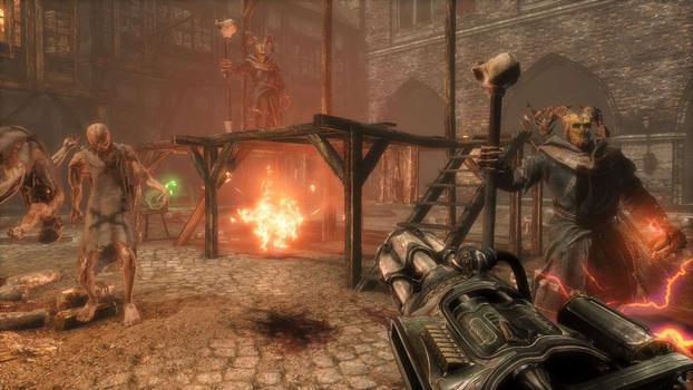 Painkiller: Hell & Damnation - The Clock Strikes Meat Night DLC on PC screenshot #5