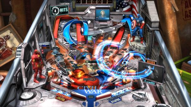 Pinball FX2 - Civil War Table DLC on PC screenshot #5