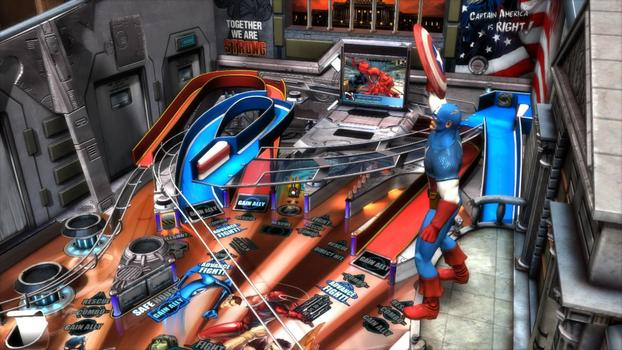Pinball FX2 - Civil War Table DLC on PC screenshot #4