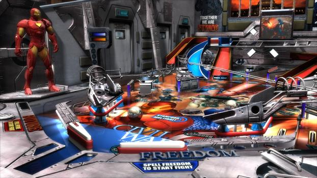 Pinball FX2 - Civil War Table DLC on PC screenshot #3