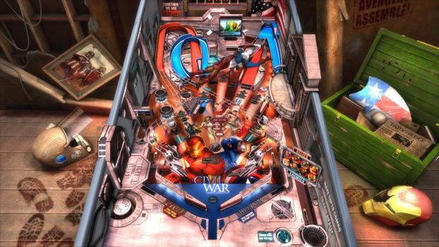 Pinball FX2 - Civil War Table DLC on PC screenshot #2