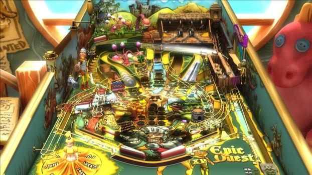 Pinball FX2 - Epic Quest Table DLC on PC screenshot #1
