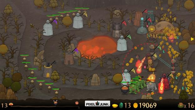 PixelJunk Monsters Ultimate and Shooter Bundle on PC screenshot #1
