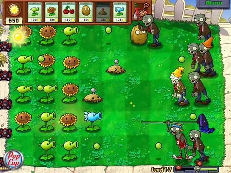 Plants vs Zombies Game of the Year Edition (NA)  on PC screenshot #5