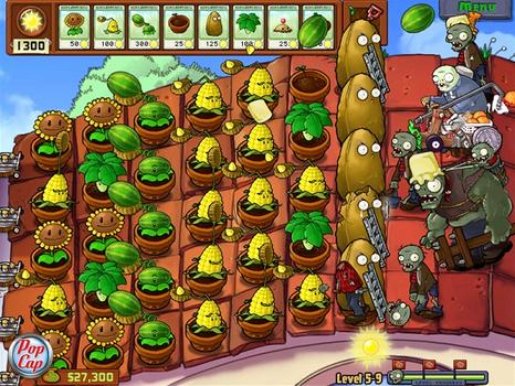 Plants vs Zombies Game of the Year Edition (NA)  on PC screenshot #1